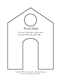 GBH Front Wall Pattern Printable