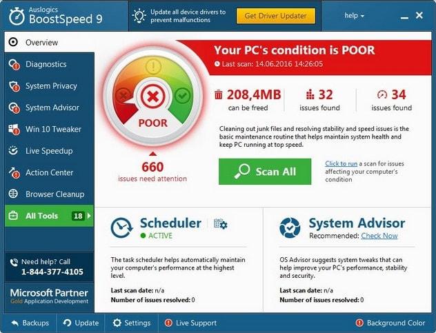 Auslogics BoostSpeed 9.1.3.0 Serial Key