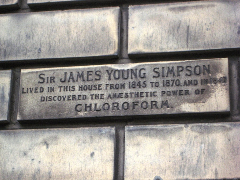 House of James Young Simpson, Queen Street, Edinburgh. Foto de Enrique Vila-Matas