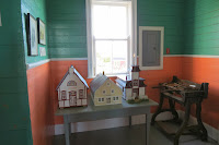 scale models of Greenspond buildings