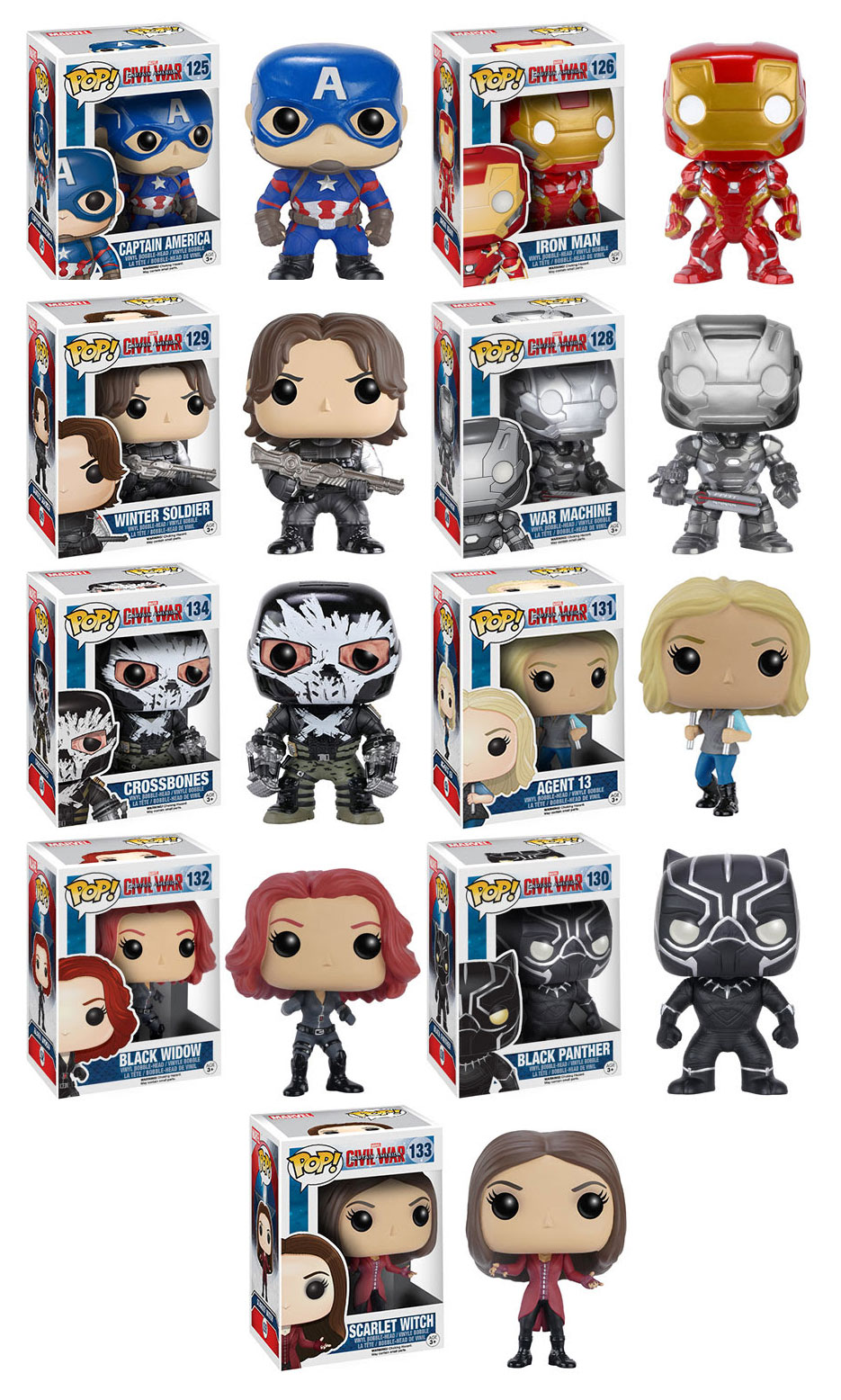 Learn How To Draw Falcon From Captain America Civil War: Captain America: Civil War Pop! Vinyls & DORBZ From Funko
