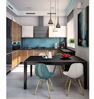 Kitchen Trendy Design for Interior Contemporary Home