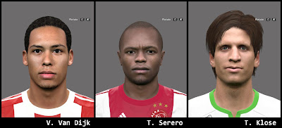 PES 2016 Facepack 2 by AMussoullini