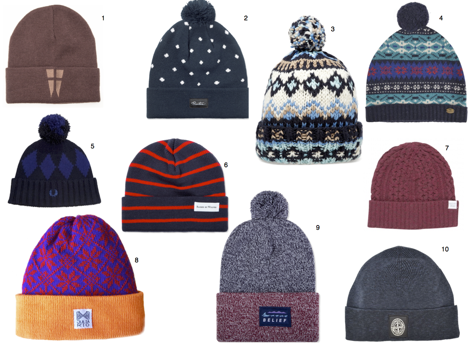 Pom Knit Hats, Beanies, Winter Accessories