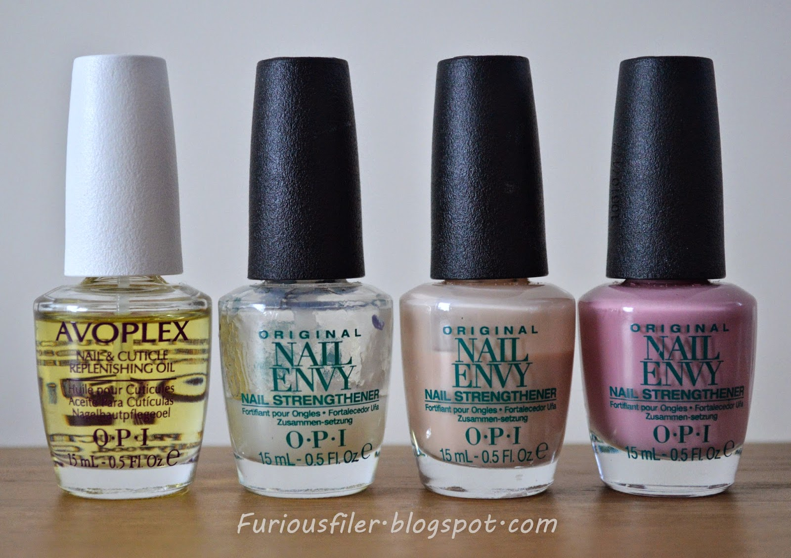 OPI Wardrobe Collection review - FURIOUS FILER