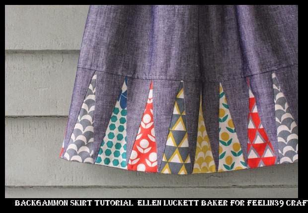 lowest price ea2c7 9009c ... nike air force 1 price guide Backgammon Skirt tutorial Ellen Luckett  Baker for Feelin39 Crafty nice way to showcase fabrics Sewing ideas