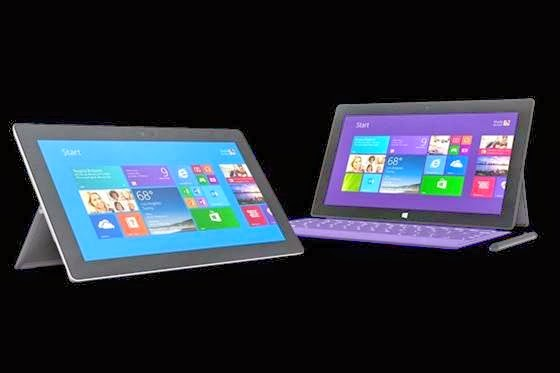 Surface 2 e Surface Pro 2 - 560x373