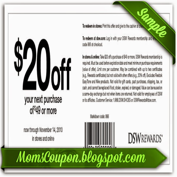 Dsw coupon codes 2019