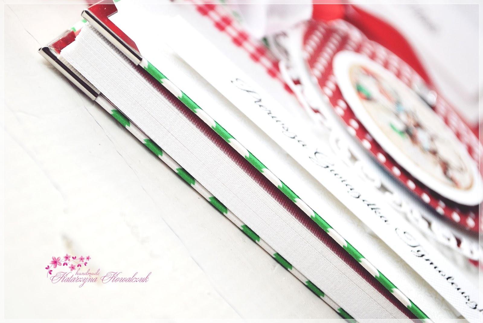 album świąteczny pierwsza gwiazdka scrapbooking