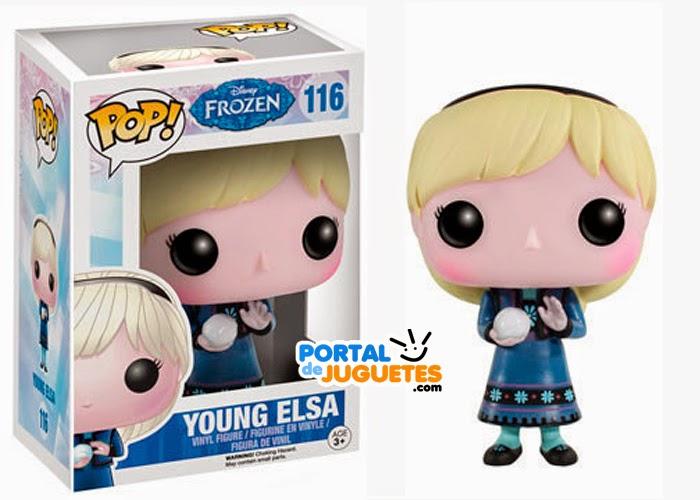 figura elsa niña frozen funko