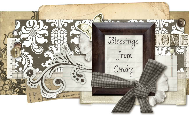 Beautiful Blessings from Cindy