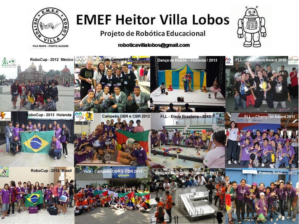 Robótica EMEF Heitor Villa Lobos