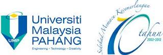Jawatan Kosong Universiti Malaysia Pahang (UMP) - 19 Oktober 2012