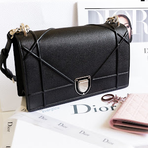 d66345f82bb Dior Diorama Bag and Lady Dior Patent Wallet Review and Photos   On ...