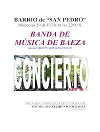 CONCIERTO BARRIO SAN PEDRO 2011