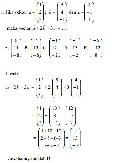 Soal Matematika Smk Kelas 10