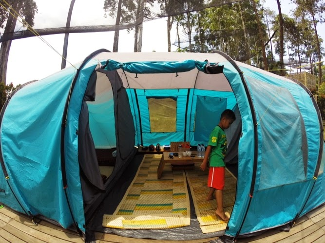 Kiddos Travel Stories Camping Di Dusun Bambu Pengalaman