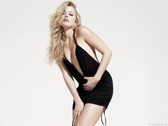 Amber Heard Hollywood Actress Wallpaper