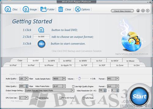 WinX DVD Ripper Platinum 6.3.5 + Keygen 3
