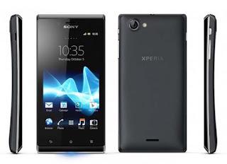 Hp Sony Experia J ST26i