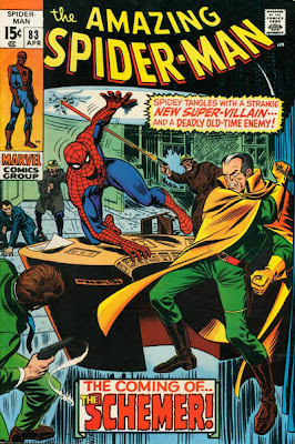 Amazing Spider-Man #83. The First appearance of the Schemer