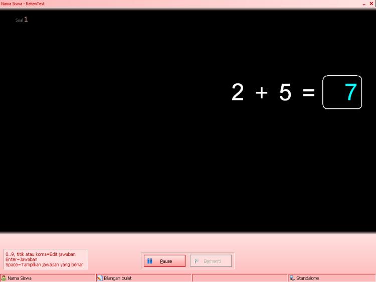 Menggunakan RekenTest untuk Media Pembelajaran Interaktif Matematika