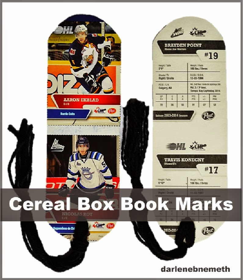 hockey book marks