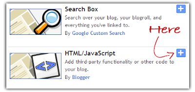 blogger html javascript widget