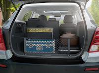 Vedere portbagaj Chevrolet Trax