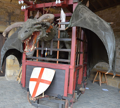 Dragon at Alnwick Castle