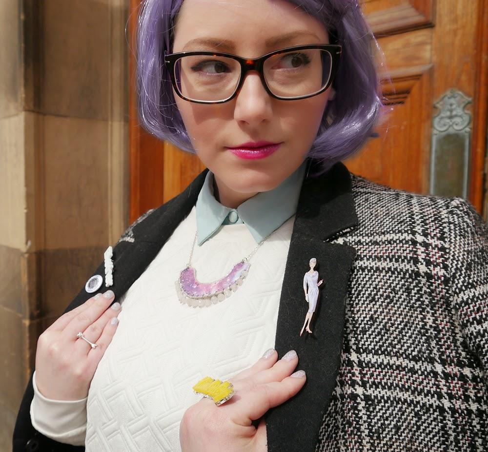 #scotstreetstyle, #EdFashion, Edinburgh, style, details, glasses, fashion, specs, Kimberley, style inspiration, Red Door Gallery, Etsy