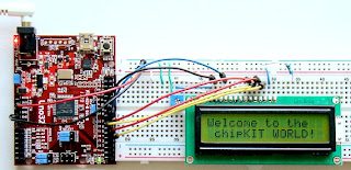 Hello world com chipKIT