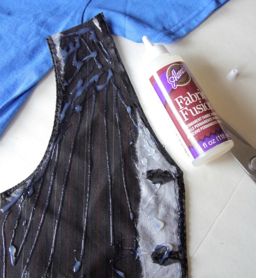 DIY Vest T-shirt -