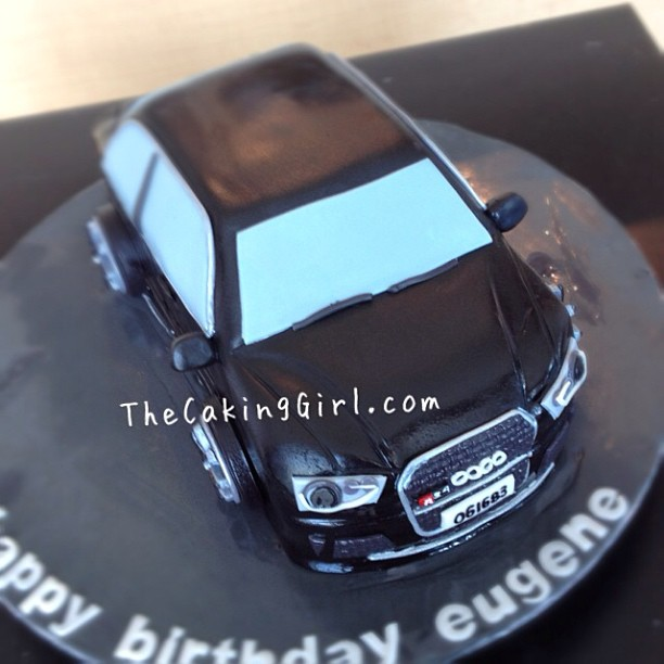 Audi Rs4 Lease Deals: TheCakingGirl: Car Cake! Audi Car Cake :