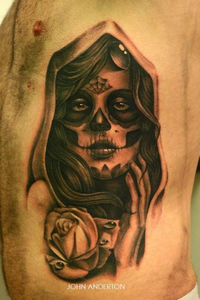 Beautiful Catrina Tattoos