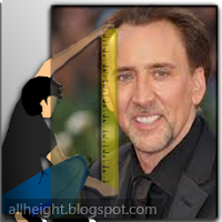 Nicolas Cage Height - How Tall