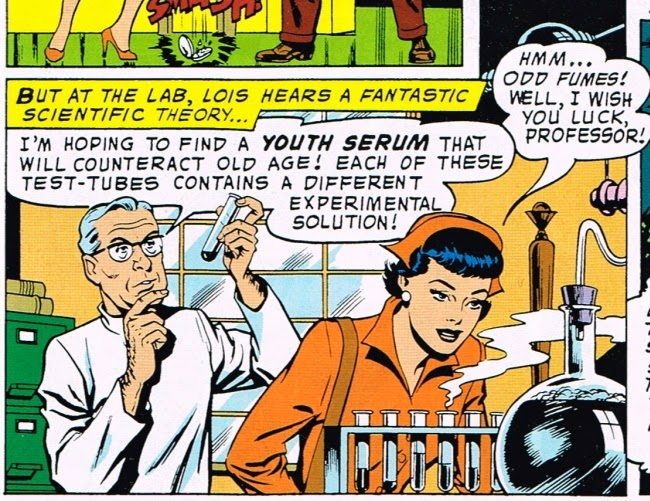 Superman's Girlfriend Lois Lane: The Witch of Metropolis youth serum