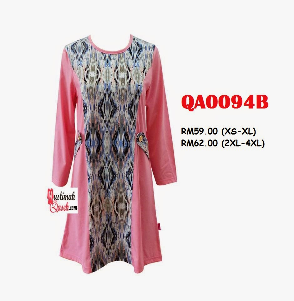 T-Shirt-Muslimah-Qaseh-QA0094B
