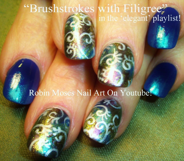 """Robin Moses Nail Art Designs: Robin Moses Nail Art: """"Fall Nail Art"""" """"elegant Fall Nails"""