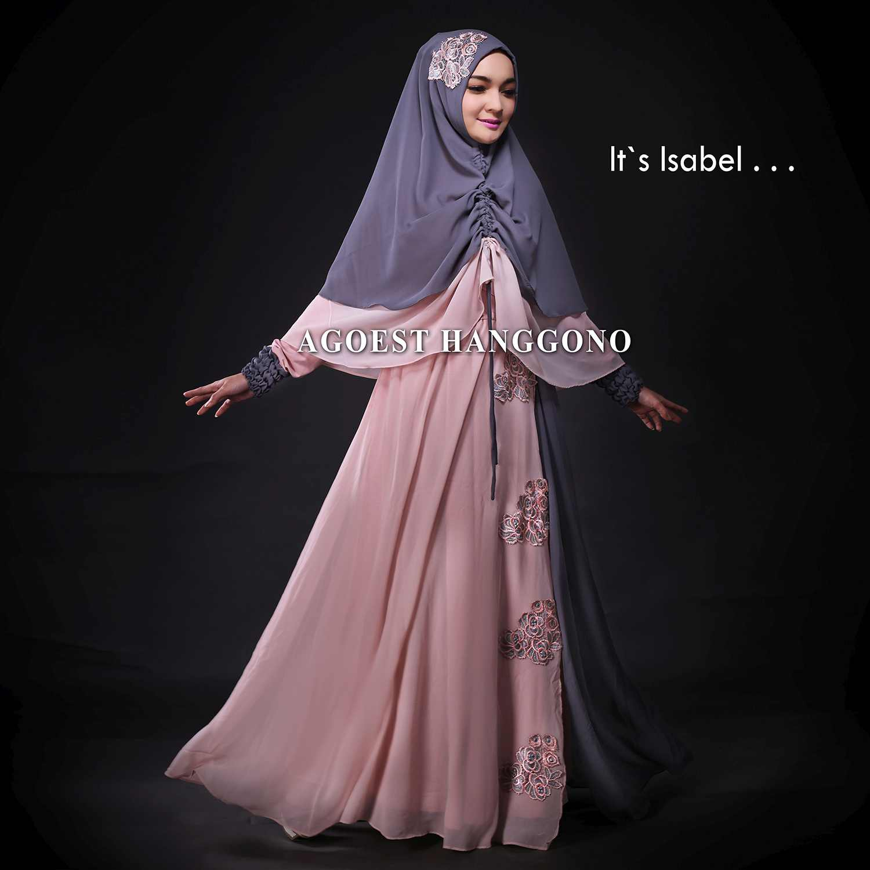 Baju Gamis Terbaru Dan Modern Isabel Dress Vol 3 By Agoest Hanggono