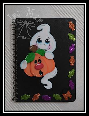 cuaderno halloween