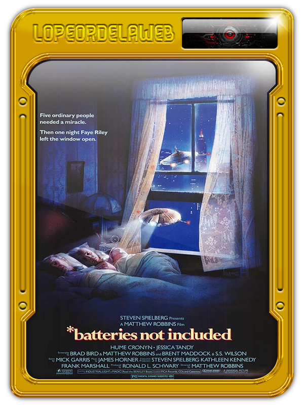 Batteries Not Included (Baterias No Incluidas) (1987) 720p