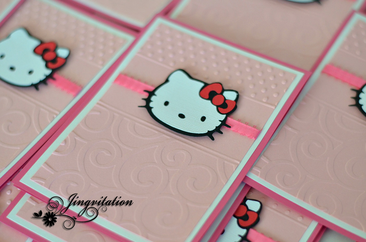 birthday and baby shower invitations hello kitty birthday baby hello kitty baptism invitations birth announcement