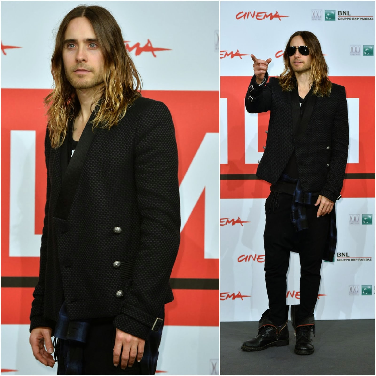 Jared Leto in Balmain - 'Dallas Buyers Club' Photocall, 8th Rome Film Festival