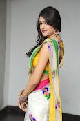 Kushi glamorous saree photos-thumbnail-15