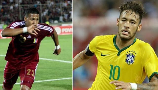 Brasil vs Venezuela en vivo