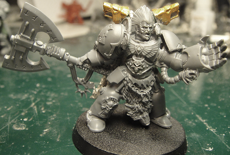 Leman Russ Primarch. Leman Russ - Primarch of the