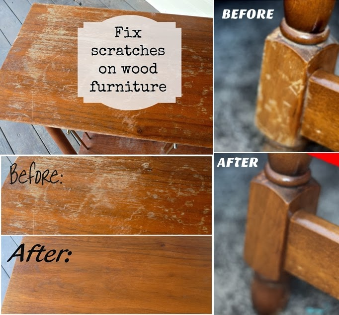 Diy Fix Scratches On Wood Furniture Diy Craft Projects