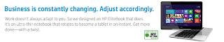 HP Elitbook Revolve