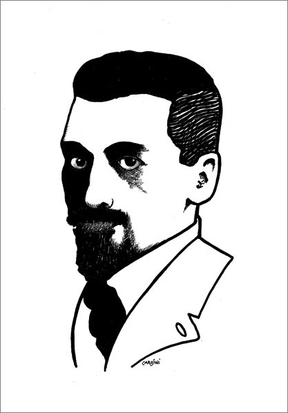 copertina interna di Gino Andrea Carosini